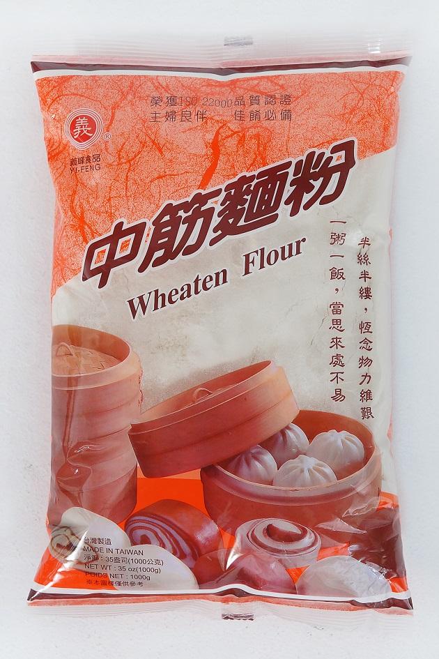義峰中筋麵粉 1