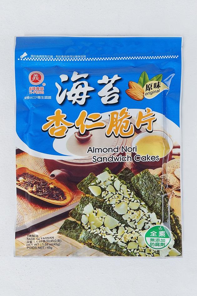義峰海苔杏仁脆片(原味) 1