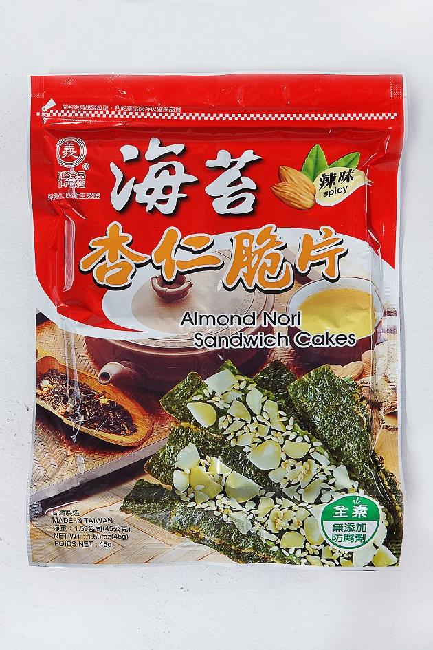 義峰海苔杏仁脆片(辣味) 1