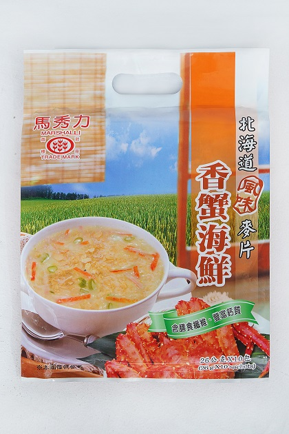 馬秀力香蟹海鮮麥片 1
