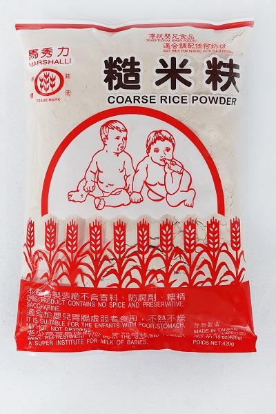 馬秀力糙米麩 1